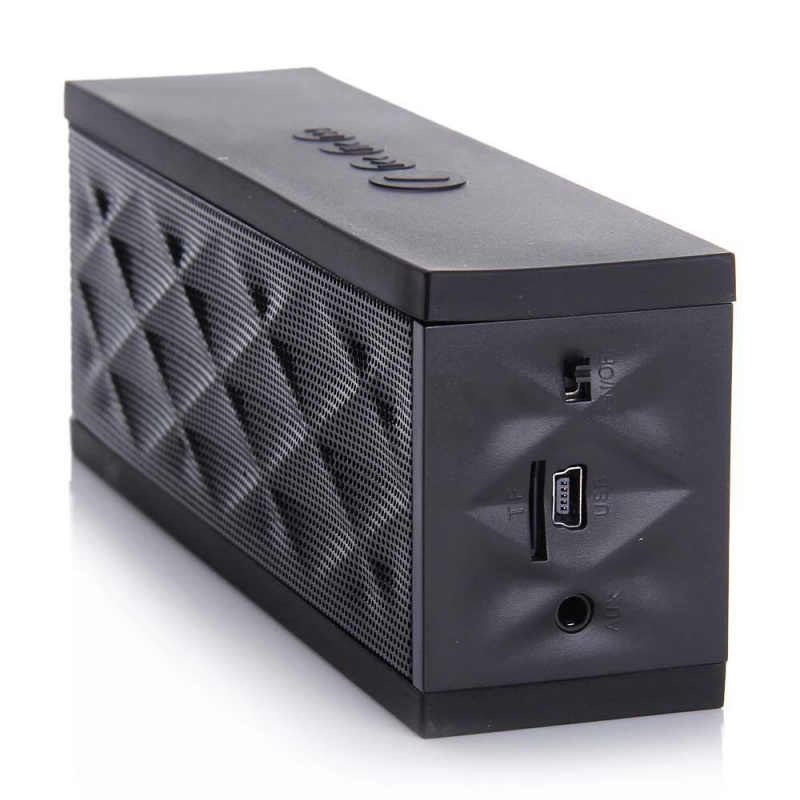 mini enceinte bluetooth portable stereo smartphone tablette noir. Black Bedroom Furniture Sets. Home Design Ideas