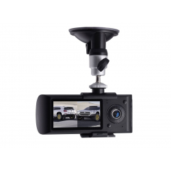 Dashcam GPS Double Caméra Embarquée Sport HD DVR Boite Noire