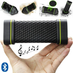 Mini enceinte portable Bluetooth sportive waterproof antichoc noir Enceinte waterproof YONIS