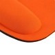 Tapis de souris ergonomique repose poignet ultra fin orange - Tapis de souris - www.yonis-shop.com