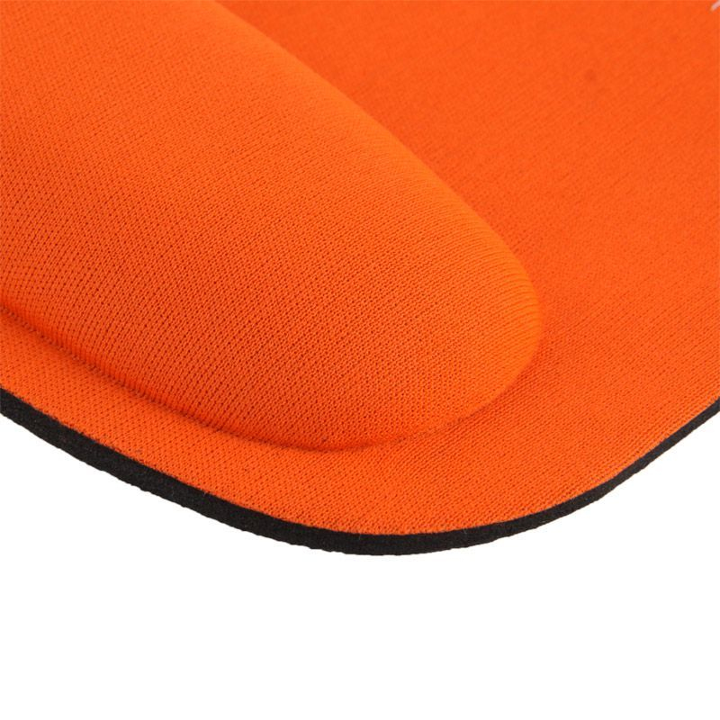 tapis de souris ergonomique repose poignet ultra fin orange. Black Bedroom Furniture Sets. Home Design Ideas