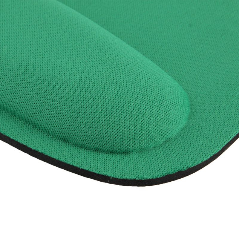 tapis de souris ergonomique repose poignet ultra fin vert. Black Bedroom Furniture Sets. Home Design Ideas