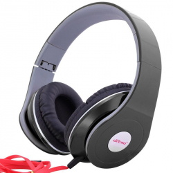 Casque nomade anti bruit casque audio arceau isolation phonique noir - Casque audio - www.yonis-shop.com
