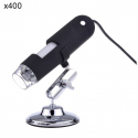 Mini microscope électronique zoom x400 USB portable 8 LED 1.3 MP - Microscope - www.yonis-shop.com
