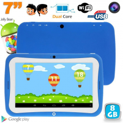 Tablette tactile enfant éducative 7 pouces Android 4.2.2 bleu 8Go - Tablette tactile enfant - www.yonis-shop.com