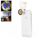 Objectif universel appareil photo smartphone grand angle 180° macro blanc - Autres accessoires smartphone - www.yonis-shop.com