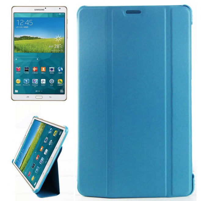 Housse samsung galaxy tab s 8 4 pouces sm t700 support fin for Housse galaxy tab s