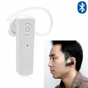 Oreillette Bluetooth Stereo kit mains-libres voiture smartphone blanc Oreillette bluetooth YONIS