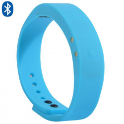 Bracelet connecté intelligent Bluetooth appel mode sport Bleu