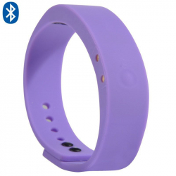 Bracelet connecté intelligent Bluetooth appel mode sport Violet - Bracelet connecté - www.yonis-shop.com