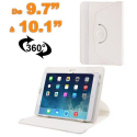 Housse universelle tablette 9.7 - 10.1 pouces support 360° Blanc - Housse tablette - www.yonis-shop.com