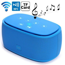 Enceinte Portable Bluetooth NFC Kit Mains libres Micro SD MP3 Bleu - Tout le stock - www.yonis-shop.com