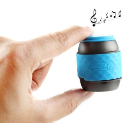 Enceinte portable haut-parleur Bluetooth NFC kit main libre bleu - Mini enceinte Bluetooth - www.yonis-shop.com