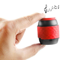 Enceinte portable haut-parleur Bluetooth-NFC kit main libre rouge - Tout le stock - www.yonis-shop.com