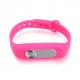 Bracelet enregistreur vocal boîtier amovible 4Go mémoire flash Rose - Micro espion - www.yonis-shop.com