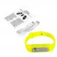 Bracelet enregistreur vocal boîtier amovible 4Go mémoire flash Jaune - Micro espion - www.yonis-shop.com