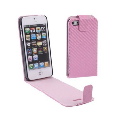 Housse iPhone 5 étui de protection Rose - Housse / étui iPhone - www.yonis-shop.com