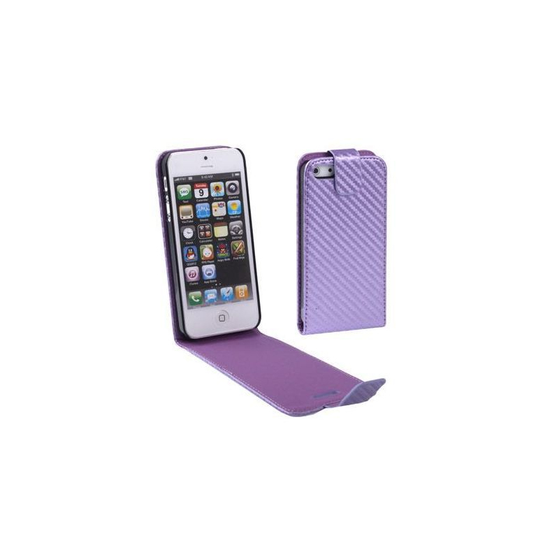 Housse iphone 5 tui de protection violet 4 pouces for Etui housse iphone 5