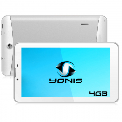 Tablette 3G 7 pouces GPS OTG Android 4.4 Double SIM 4Go Blanc - Tablette tactile 7 pouces - www.yonis-shop.com