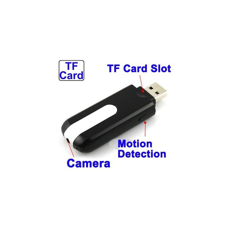 cl usb cam ra espion d tecteur de mouvement u8 micro sd 32 go. Black Bedroom Furniture Sets. Home Design Ideas
