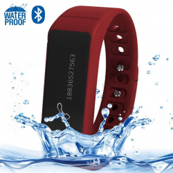 I5 Plus IP67 Waterproof 0.91 inch OLED Touch Screen Bluetooth V4.0 Smart Bracelet Wristband, Support Pedometer / Sleep Monitori