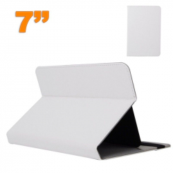 Housse universelle tablette 7 pouces support étui ajustable Blanc - Housse tablette - www.yonis-shop.com