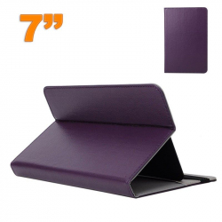 Housse universelle tablette 7 pouces support étui ajustable Violet - Housse tablette - www.yonis-shop.com