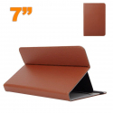 Housse universelle tablette 7 pouces support étui ajustable Marron - Housse tablette - www.yonis-shop.com