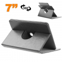 Etui protection tablette tactile 7 pouces simili cuir 360° Noir - www.yonis-shop.com