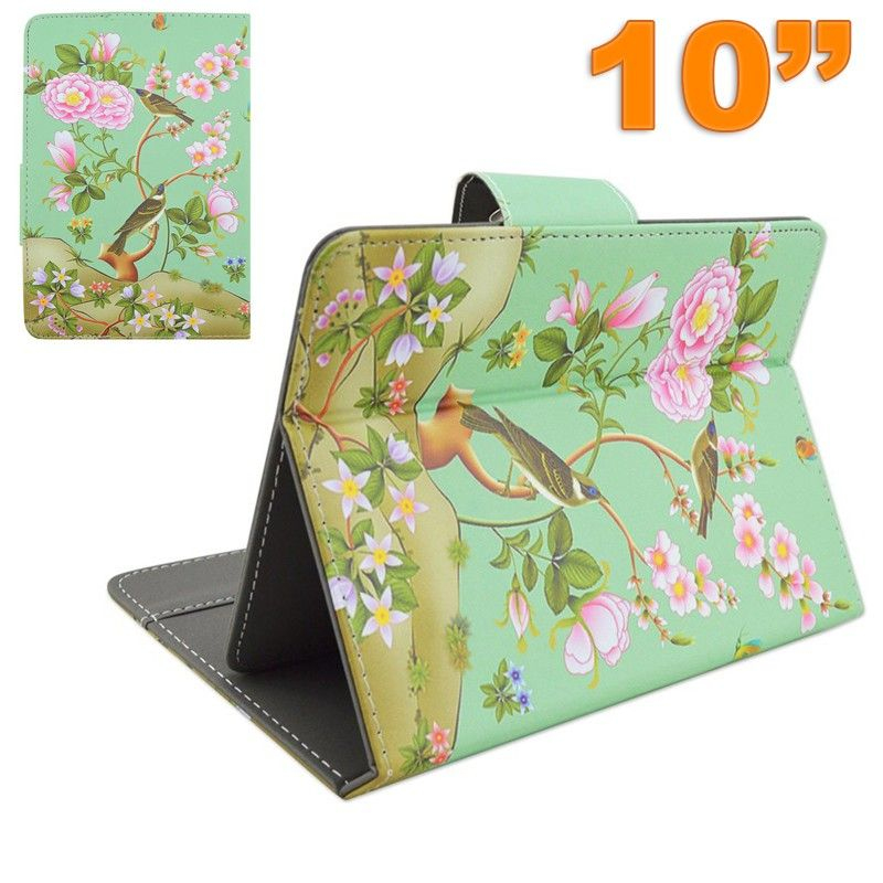 Housse tablette 10 pouces universelle tui support oiseau for Housse universelle tablette 10 pouces