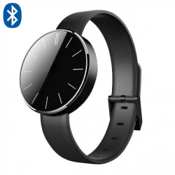 Montre Connecte Android iOS Smartwatch LED Bluetooth Cuir Appels SMS