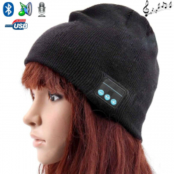 Bonnet Bluetooth ecouteurs bonnet audio microphone iPhone smartphone