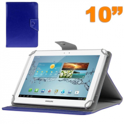Housse universelle tablette 10 pouces ajustable 10.1'' support Bleu - Housse tablette - www.yonis-shop.com