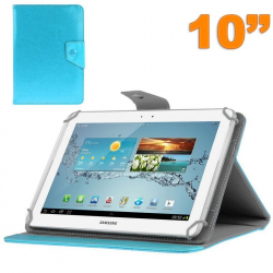 Housse universelle tablette 10 pouces ajustable 10.1'' support Bleu ciel - Housse tablette - www.yonis-shop.com