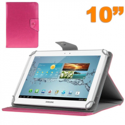 Housse universelle tablette 10 pouces ajustable 10.1'' support Rose - Housse tablette - www.yonis-shop.com