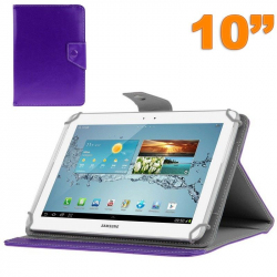Housse universelle tablette 10 pouces ajustable 10.1'' support Violet - Housse tablette - www.yonis-shop.com