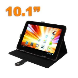 Housse tablette 10.1 pouces protection universelle simili cuir Noir - Housse tablette - www.yonis-shop.com