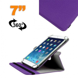 Housse universelle tablette 7 pouces support 360° étui Violet - Housse tablette - www.yonis-shop.com
