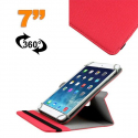 Housse universelle tablette 7 pouces support 360° étui Rouge - Housse tablette - www.yonis-shop.com