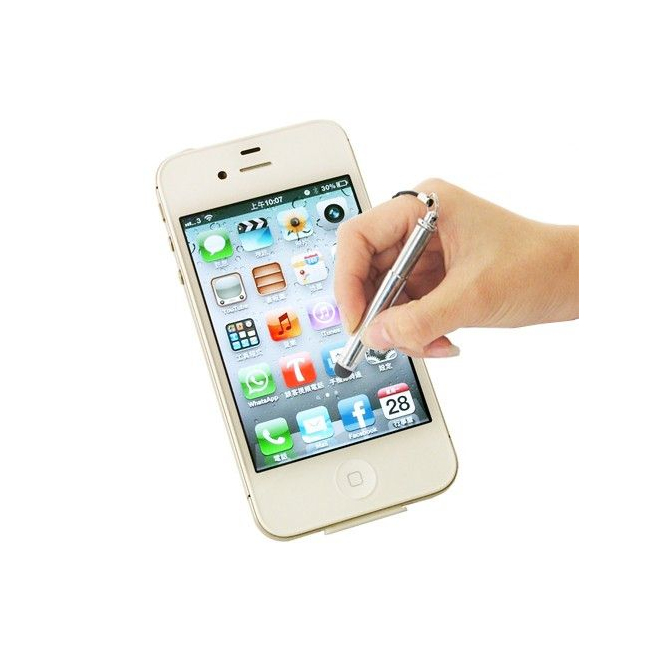 Stylet rétractable tablette tactile smartphone Samsung iPhone iPad - Stylet tablette tactile - www.yonis-shop.com
