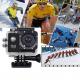 Caméra sport étanche 30m caméra action Full HD 1080p 12MP Jaune 4Go - Camera sport étanche - www.yonis-shop.com