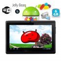 Tablette tactile Android 4.1 Jelly Bean 7 pouces capacitif 12 Go Noir - Tablette tactile 7 pouces - www.yonis-shop.com