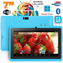 Tablette 7 pouces Bluetooth Quad Core Android 5.1 Lollipop 72Go Bleu - Tablette tactile 7 pouces - www.yonis-shop.com