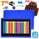 Tablette tactile Android 4.4 KitKat 7 pouces Dual Core 12 Go Bleu - Tablette tactile 7 pouces - www.yonis-shop.com