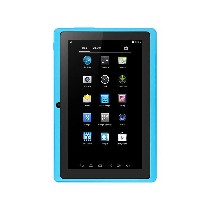 tablette 7 pouces bluetooth quad core android 5 1 lollipop 40go bleu. Black Bedroom Furniture Sets. Home Design Ideas