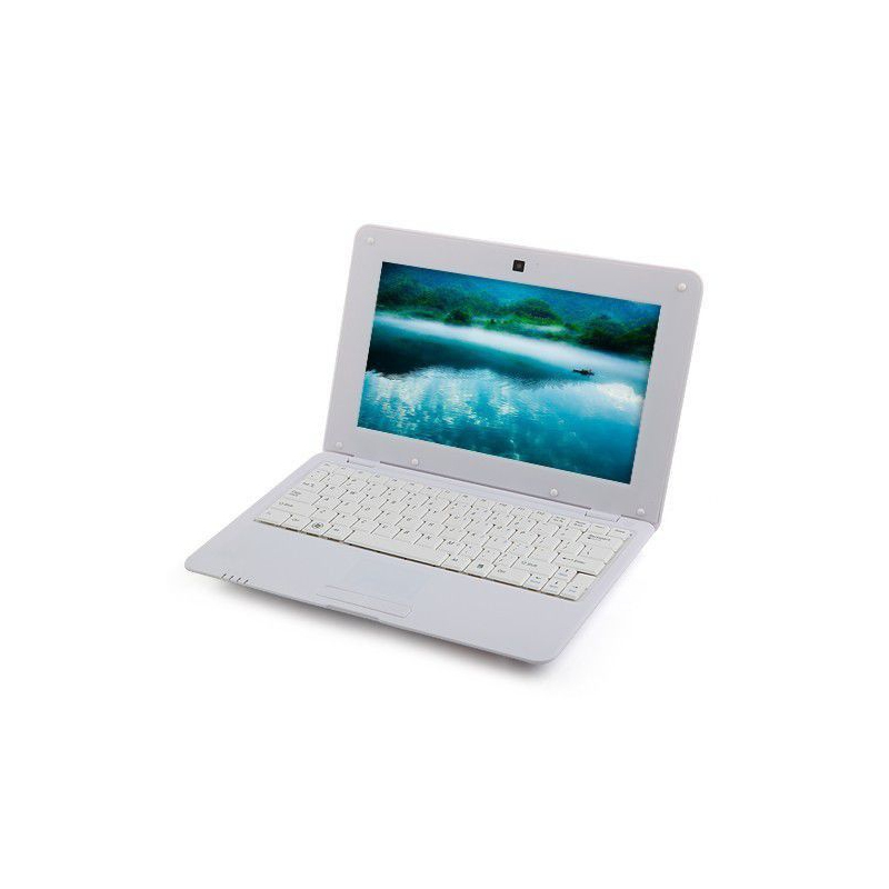 mini pc android ultra portable netbook 10 pouces wifi 8 go blanc. Black Bedroom Furniture Sets. Home Design Ideas