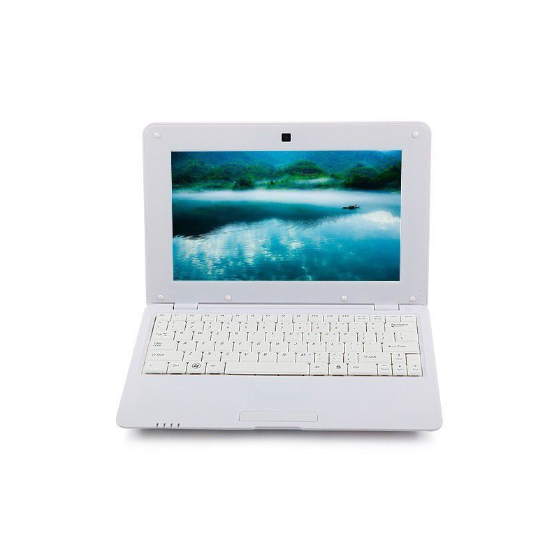 mini pc android ultra portable netbook 10 pouces wifi 12 go blanc. Black Bedroom Furniture Sets. Home Design Ideas