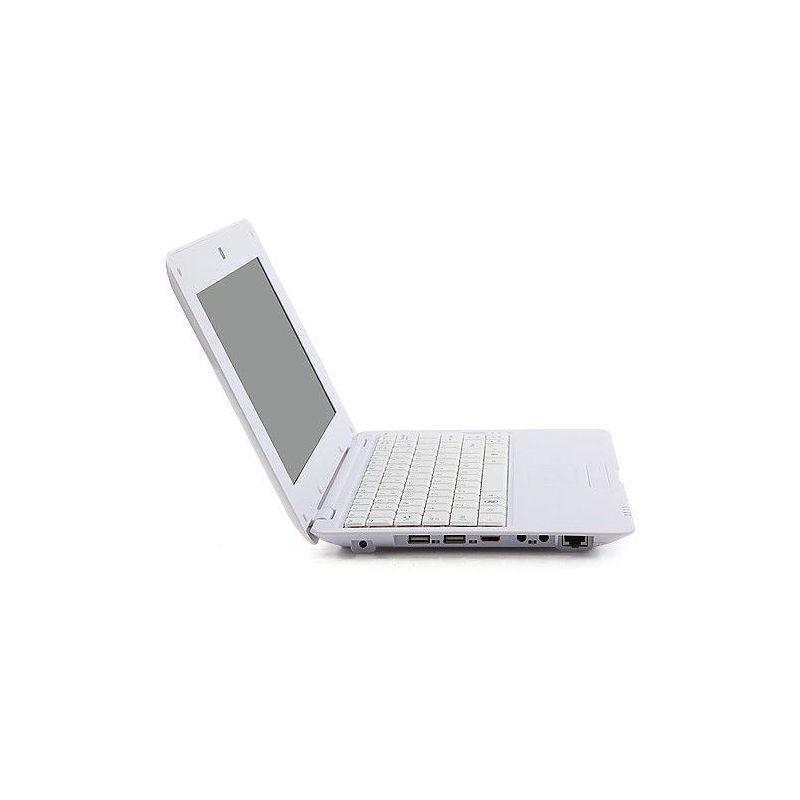 mini pc android 4 4 netbook ultra portable 10 pouces wifi 24go blanc. Black Bedroom Furniture Sets. Home Design Ideas