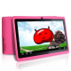 Tablette tactile Android 4.1 Jelly Bean 7 pouces capacitif 3D Rose - Tablette tactile 7 pouces - www.yonis-shop.com