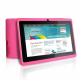 Tablette tactile Android 4.1 Jelly Bean 7 pouces capacitif 6 Go Rose - Tablette tactile 7 pouces - www.yonis-shop.com
